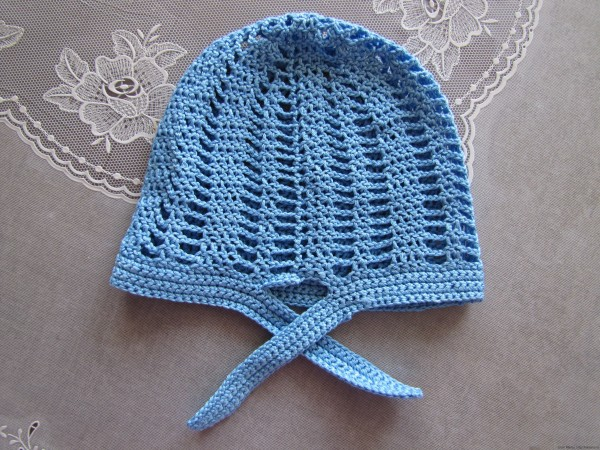 вязаная шапочка для мальчика