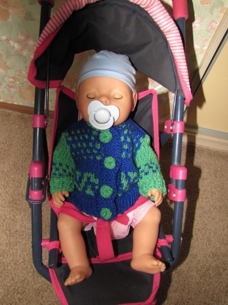 Кофта для baby-born