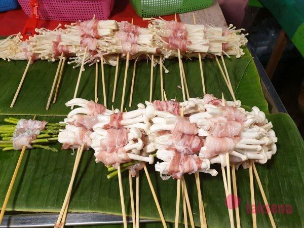 грибы в тайской кухне еноки