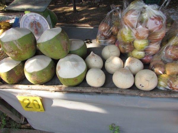 печеный кокос белый маленький кокос