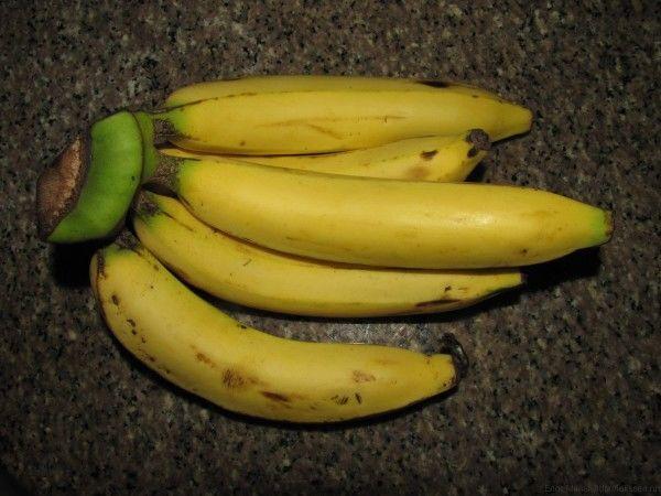 тайские бананы длинные сладкие бананы kluay hom