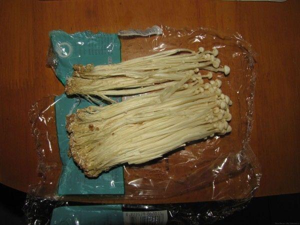 Еноки, енокитаки грибы в таиланде
