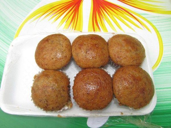 Банановые кексики десерты тайской кухни банан