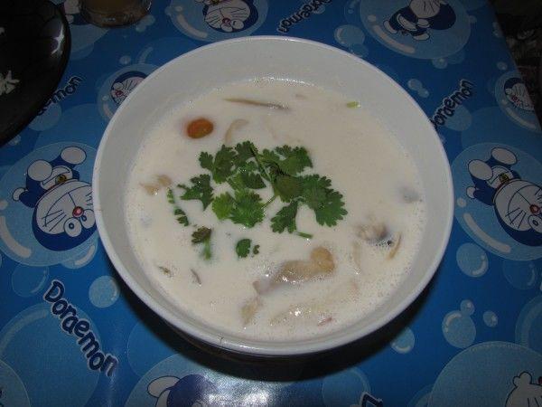 том кха кай - суп с кокосовым молоком