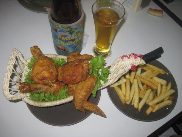 блюда из курицы в таиланде