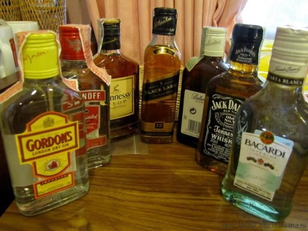 крепкие спиртные напитки таиланда