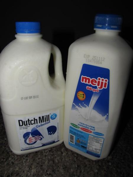 напитки таиланда молоко