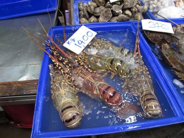 блюда из рыбы и морепродуктов в таиланде лобстер