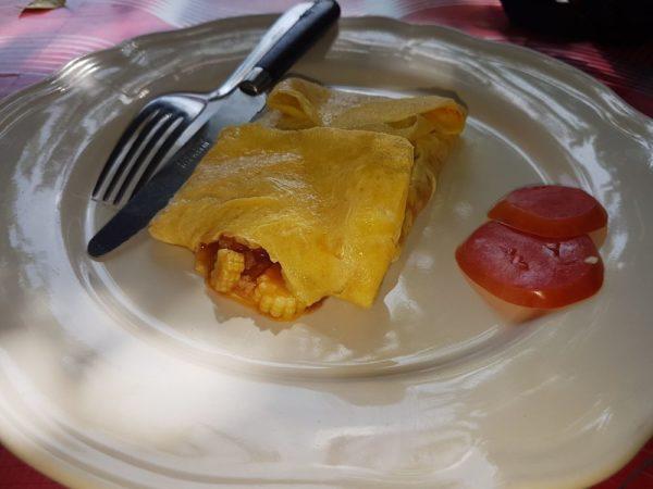 Фаршированный омлет Stuffed omlette тайские блюда из яиц