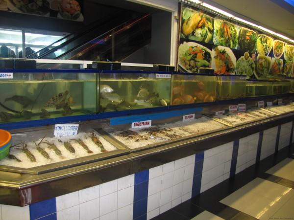 специализированный рыбный ресторан в Таиланде блюда из рыбы и морепродуктов в таиланде