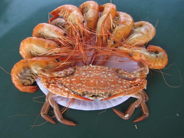 блюда из рыбы и морепродуктов в таиланде краб и креветки