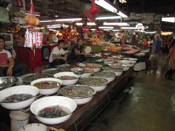 блюда из рыбы и морепродуктов в таиланде морепродукты на рынке