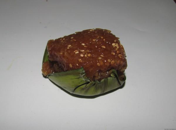 Рис с кунжутом в тягучем сиропе