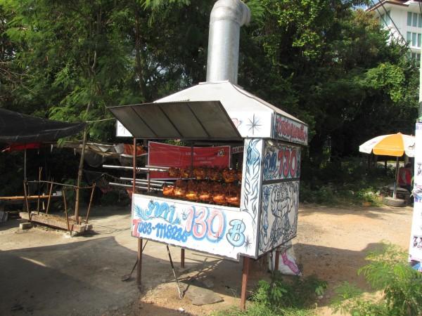 Куры-гриль в Таиланде