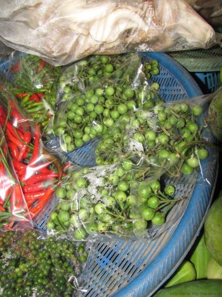 гороховый баклажан тайские овощи