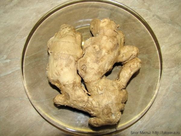 Приправы и овощи тайской кухни (фото) имбирь