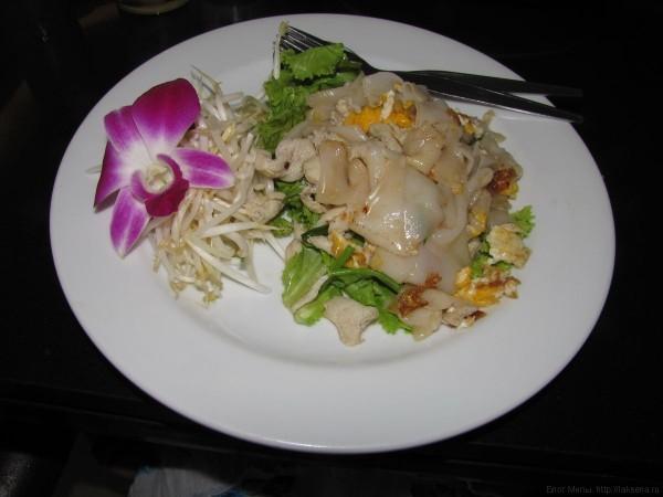 овощи в таиланде жареная лапша с ростками бобов
