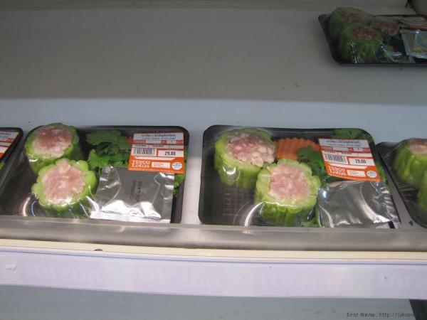 овощи тайской кухни мормодика горькая дыня
