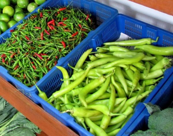 Приправы и овощи тайской кухни (фото) перец чили