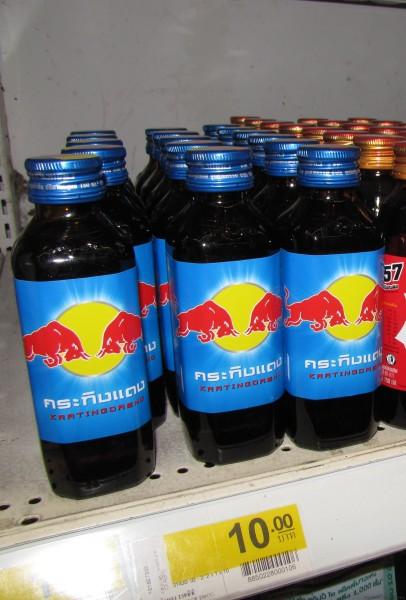 Red Bull в оригинале