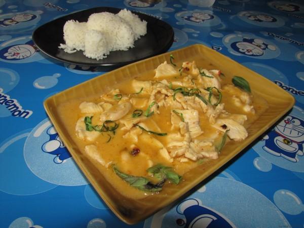 Пананг карри с курицей