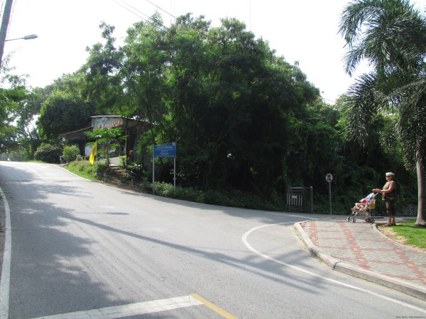 Поворот к парку