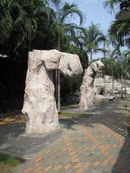 Парк Чалоемпракиат в Паттайе также известен как фитнес парк