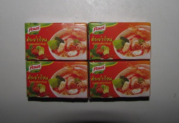 Бульонные кубики Knorr с тайским вкусом
