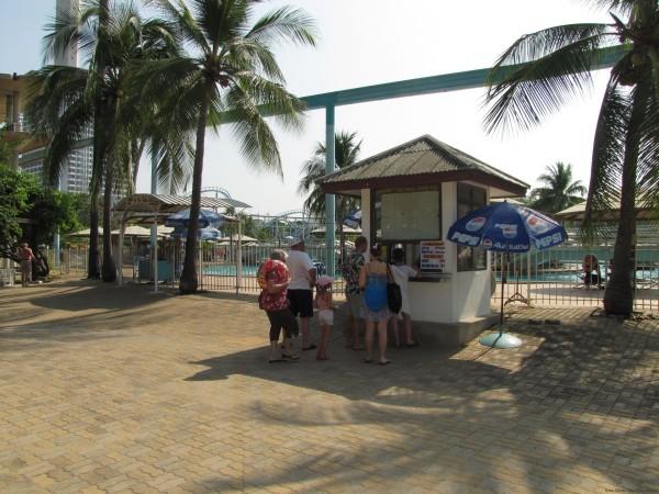 Вход в парк аквапарк паттайя парк