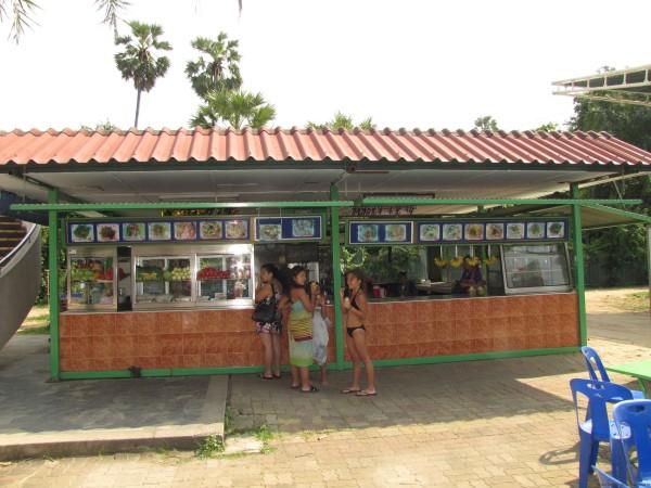 Кафе на территории аквапарка