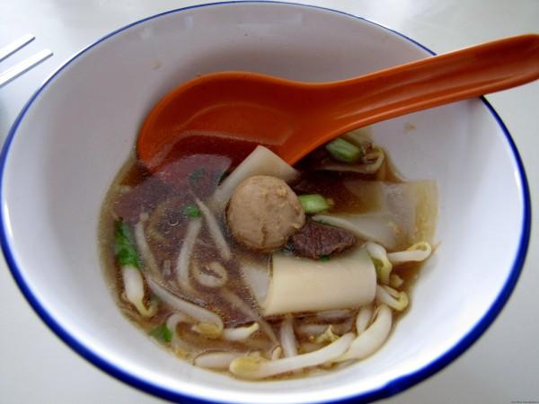 Приборы для супа в Таиланде тайский суп