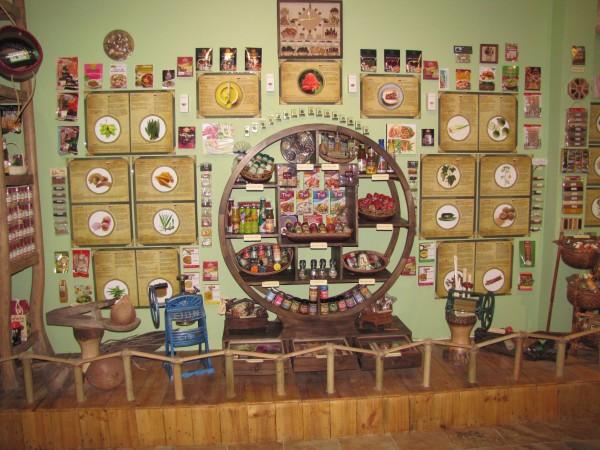 Зал азиатских специй экскурсии в Паттайесад специй