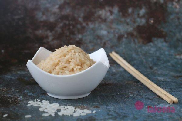 Рис с соевым соусом
