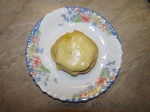 Бутерброд с ананасом и сыром