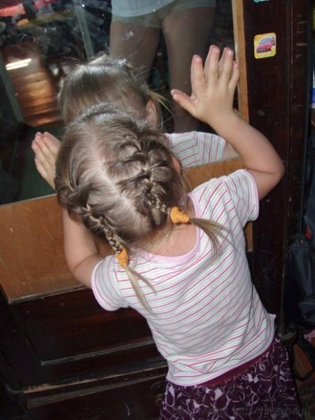 простые косички на короткие волосы на каждый день