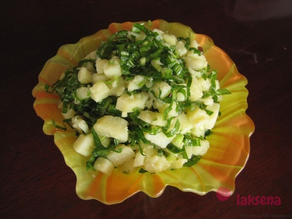 салат из черемши и картофеля черемша рецепты