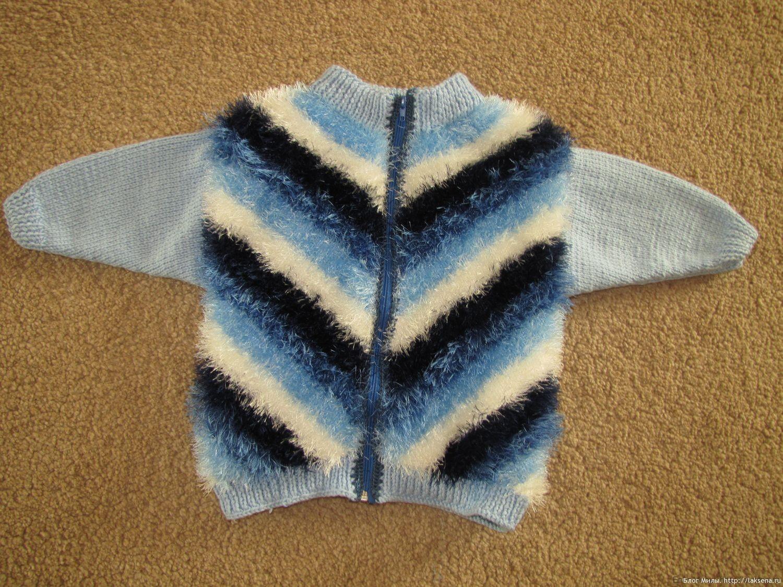 полосатая кофта косое вязание спицами блог милы