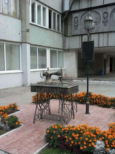 памятники в новосибирске памятник швейной машинке зингер