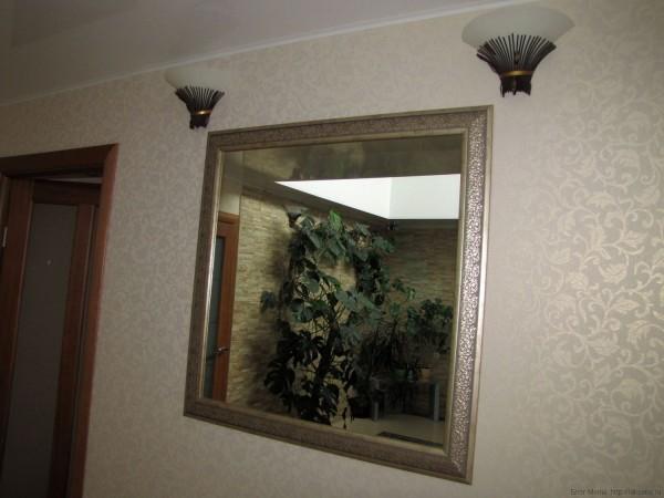 дизайн стены холла в квартире