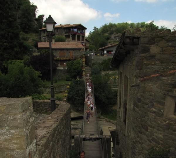 подвесной мост рупит
