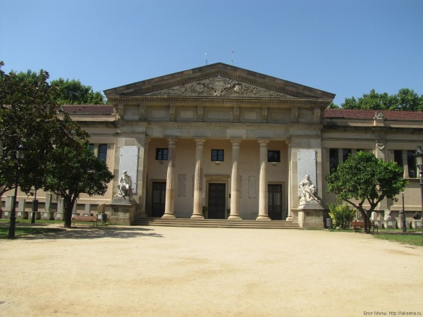 музей геологии парк цитадели барселона