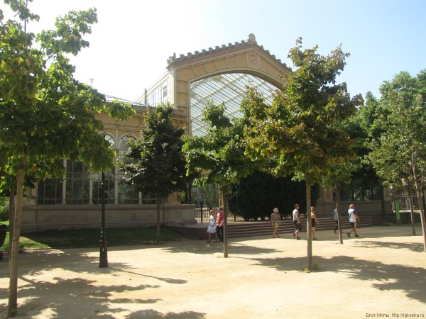 павильон парк цитадели барселона