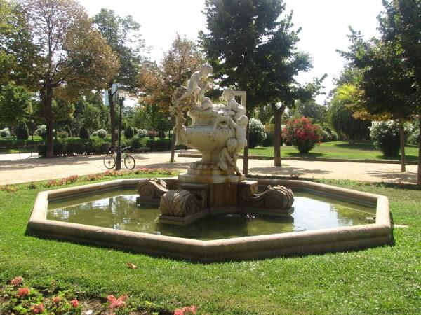фонтан парк цитадели барселона