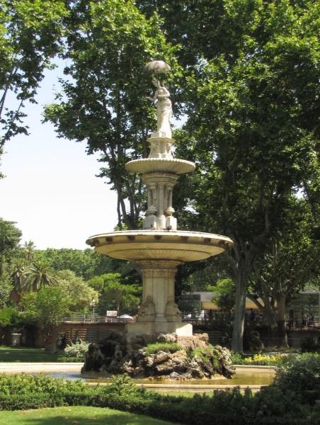 фонтан зоопарк барселоны
