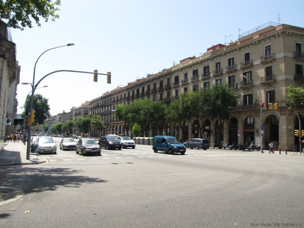 авеню Маркус де л'Аргентера (av. Marques de l'Argentera)