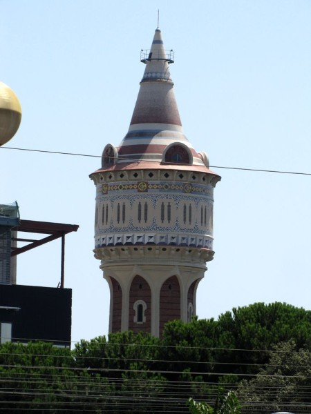 барселонета парк барселонеты водонапорная башня газовой фабрики