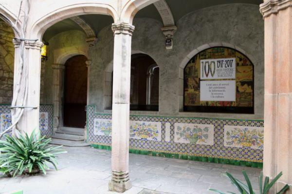готический квартал в Барселоне дом архидьякона