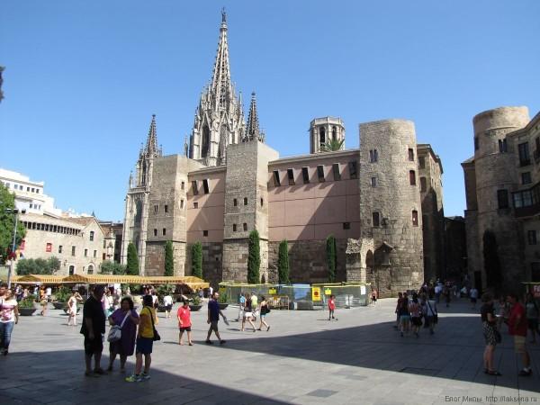 дом архидьякона готический квартал в Барселоне