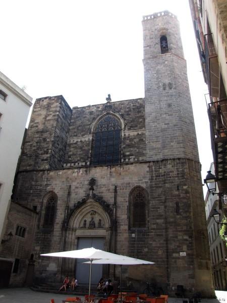 церковь Сан Жуст и Пастор (Església des Sants Just i Pastor).
