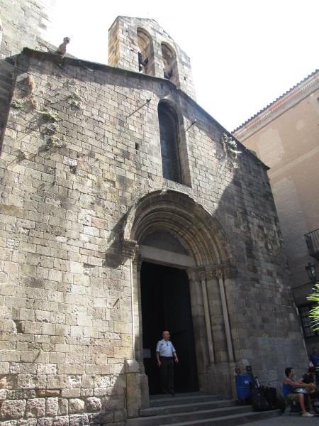 часовня святой Люсии готический квартал в барселоне